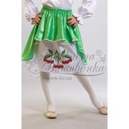 БС002кБ28ннb Комплект чеського бісеру Preciosa до дитячої спіднички-вишиванки на 3-5 років