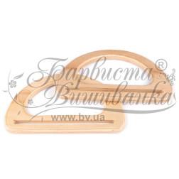 РУ002бБ1710 Дерев'яні ручки для сумок
