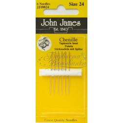 JJ18824 Chenille - Гобеленові Вишивальні Голки (Розмір - 24)