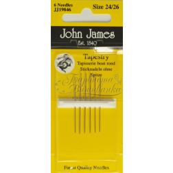 JJ19846 Tapestry - Голки для вишивки хрестиком з великим вушком та тупим кінцем (Розмір - 24/26)