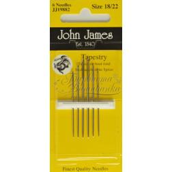 JJ19882 Tapestry - Голки для вишивки хрестиком з великим вушком та тупим кінцем (Розмір - 18/22)