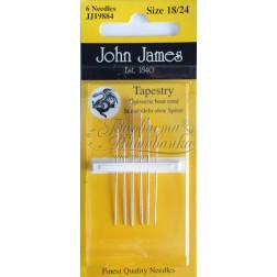 JJ19884 Tapestry - Голки для вишивки хрестиком з великим вушком та тупим кінцем (Розмір - 18/24)