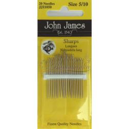 JJ11050 Sharps - Набір голок для шиття (Розмір 5/10)