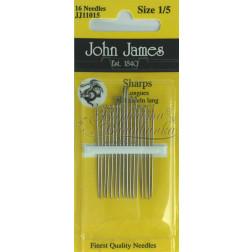JJ11015 Sharps - Набір голок для шиття (Розмір 1/5)