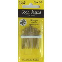 JJ11039 Sharps - Набір голок для шиття (Розмір 3/9)