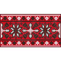 КЕ001лР1301_037_036 Пошитий клатч (Ukrainian boho) для вишивання нитками