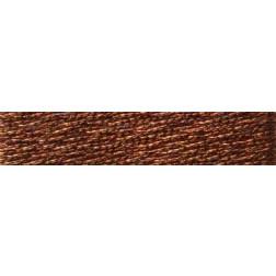 Madeira4028 Metallic Mouline copper №4, 4-х жильні, спіраль 20 м.