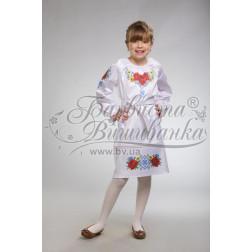ПД003кБ40ннh Комплект ниток ДМС до дитячого плаття, вишиванки