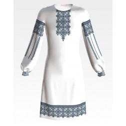 ПД043кБ40нн Заготовка для вишивання бісером дитячого плаття – вишиванки
