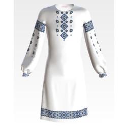 ПД045кБ40нн Заготовка для вишивання бісером дитячого плаття – вишиванки