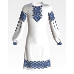 ПД047кБ40нн Заготовка для вишивання бісером дитячого плаття – вишиванки