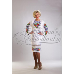 ПЛ014кБннннh Комплект ниток ДМС до жіночої сукні, вишиванки