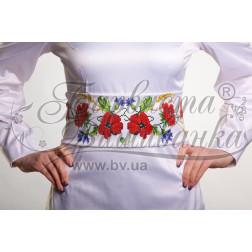 ПС013кБннннb Комплект чеського бісеру Preciosa до  жіночого пояса
