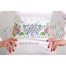 ПС014кБннннh Комплект ниток ДМС до жіночого поясу – вишиванки