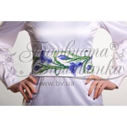 ПС015кБннннb Комплект чеського бісеру Preciosa до  жіночого пояса