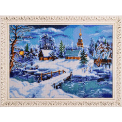 ПТ018ан6144 Казкова зима