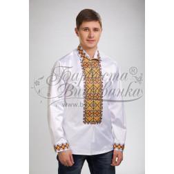 СЧ003кБннннb  Комплект чеського бісеру Preciosa до чоловічої сорочки - вишиванки