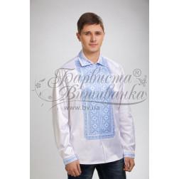 СЧ005кБннннb  Комплект чеського бісеру Preciosa до чоловічої сорочки - вишиванки