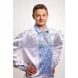 СЧ007кБннннb  Комплект чеського бісеру Preciosa до чоловічої сорочки - вишиванки