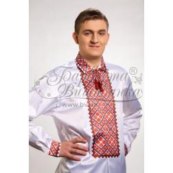 СЧ014кБннннb  Комплект чеського бісеру Preciosa до чоловічої сорочки - вишиванки