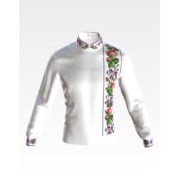 СЧ060кБнннн Заготовка для вишивання бісером  чоловічої сорочки - вишиванки