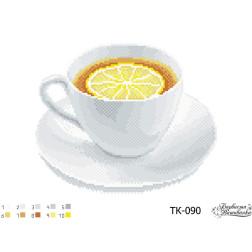 ТК090ан3322 Бісерна заготовка для вишивання схеми-картини Міцний чай 33 см x 22 см