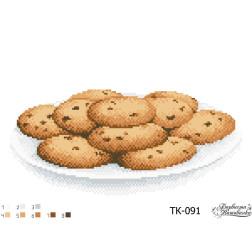 ТК091ан3322 Бісерна заготовка для вишивання схеми-картини Домашнє печиво 33 см x 22 см