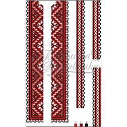 ВД008кБннннb Комплект чеського бісеру Preciosa до дитячої вставки, вишиванки
