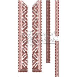 ВД009кБннннb Комплект чеського бісеру Preciosa до дитячої вставки, вишиванки