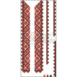ВД014кБннннb Комплект чеського бісеру Preciosa до дитячої вставки, вишиванки