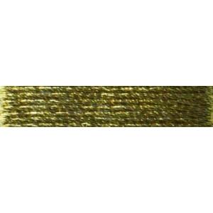 Metallic Mouline pure gold №4, 4-х жильні, спіраль 20 м. Madeira4007