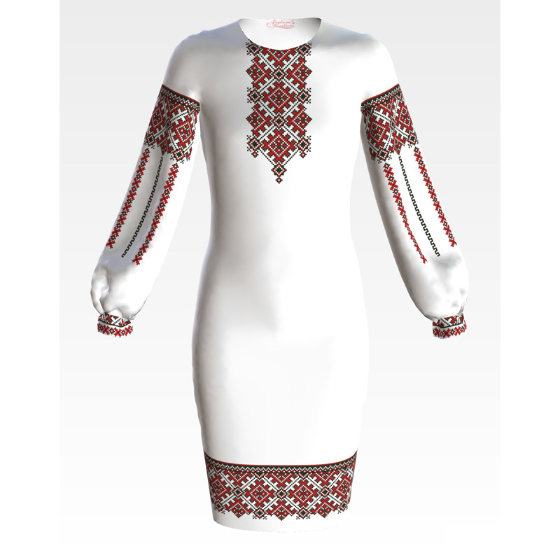 ПД044кБ40нн Заготовка для вишивання бісером дитячого плаття – вишиванки 30c07f38717dc