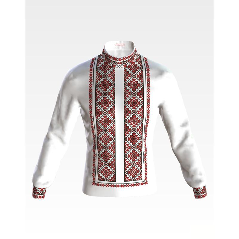 СЧ044кБнннн Заготовка для вишивання бісером чоловічої сорочки - вишиванки e8736e3f00398
