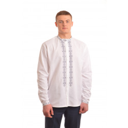 Сорочка-вишиванка чоловіча вишита вручну хрестиком АС002дБ5402_004