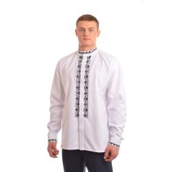 Сорочка-вишиванка чоловіча вишита вручну хрестиком АС010дБ5802_005