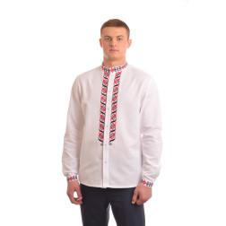 Сорочка-вишиванка чоловіча вишита вручну хрестиком АС022дБ5202_001