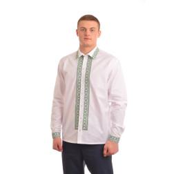 Сорочка-вишиванка чоловіча вишита машинною вишивкою хрестиком АС304хБ5203_027