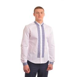 Сорочка-вишиванка чоловіча вишита машинною вишивкою хрестиком АС304хБ5403_008