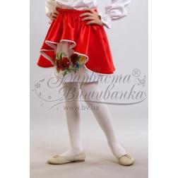 БС005кБ28ннb Комплект чеського бісеру Preciosa до дитячої спіднички-вишиванки на 3-5 років