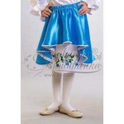 Набір бісеру Preciosa для вишивки бісером до заготовки дитячої спіднички – вишиванки на 3-5 років Лілеї БС006дБ28ннb