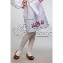 Набір бісеру Preciosa для вишивки бісером до заготовки дитячої спіднички – вишиванки на 3-5 років Троянди БС009дБ28ннb