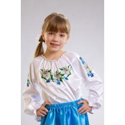 Набір ниток DMC для вишивки хрестиком до заготовки дитячої блузки – вишиванки на 1-3 років Лілеї БД006кБ28ннh