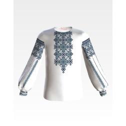 БД043кБ28ннb Комплект чеського бісеру Preciosa до дитячої блузки-вишиванки на 3-5 років