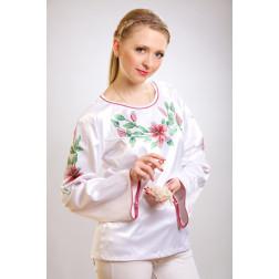 Заготовка жіночої вишиванки Лілеї для вишивки бісером БЖ002кБнннн