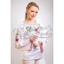 Набір бісеру Preciosa для вишивки бісером до заготовки жіночої блузки – вишиванки Лілеї БЖ002дБннннb