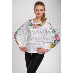 Набір бісеру Preciosa для вишивки бісером до заготовки жіночої блузки – вишиванки Королівські квіти БЖ023дБннннb