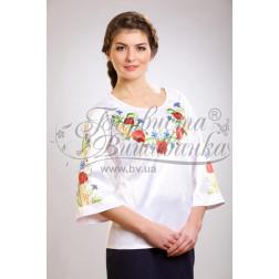 БЖ024кБннннh Комплект ниток ДМС до жіночої блузки – вишиванки
