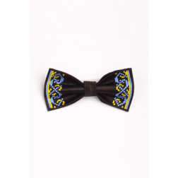 Метелик для хлопчиків вишитий машинною вишивкою хрестиком ХМ001пЧ1106_038