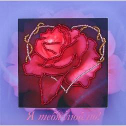 """Набір для вишивання бісером  """"Троянда"""" Butterfly-723"""