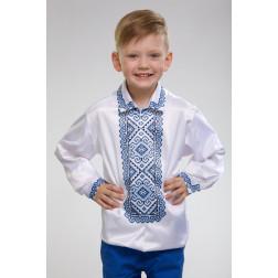 Заготовка дитячої сорочки на 1-3 років Кучерява безмежність для вишивки бісером СД002кБ28нн